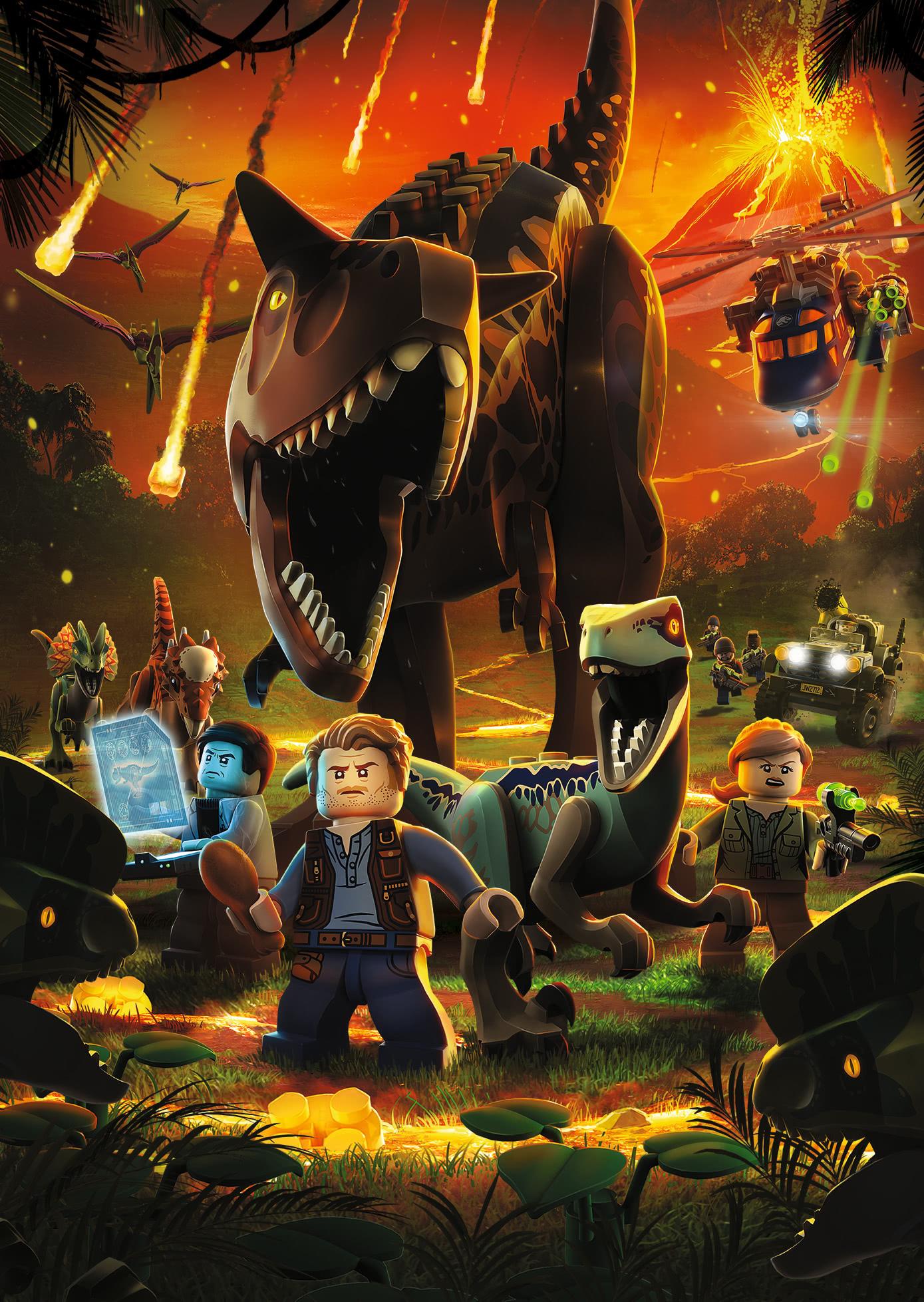 乐高侏罗纪世界:逃走的帝王暴龙