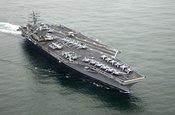 中国周边有多少美军航母?