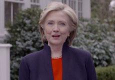 希拉里宣布参选美总统