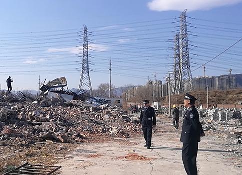 石景山拆除4500平米违建拟建生态园