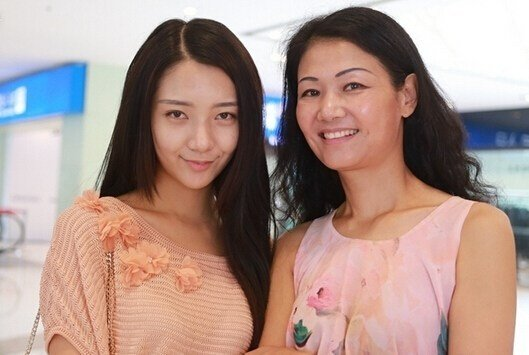 中国胸模大赛现场