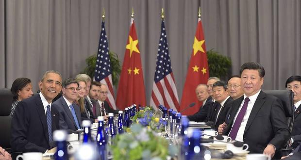 核安全峰会:习近平会见奥巴马 谈南海、朝核问题
