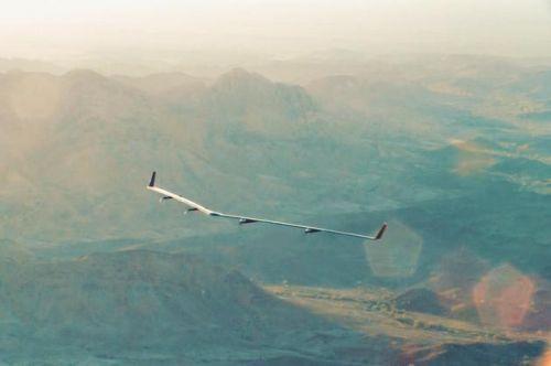 Facebook UAV Flight: to push the Internet in remote areas