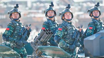 庆祝中国人民解放军建军90周年阅兵全景纪实