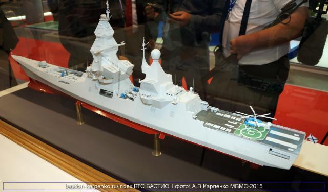 Big! Russia plans to build 8 ships in nearly 20 thousand tons of nuclear powered destroyers