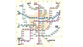 西安地铁2号线运行时间图片