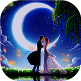 月下情侣动态壁纸锁屏:一款高清浪漫月下情侣动态壁纸锁屏