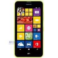 诺基亚(NOKIA) Lumia 638 4G手机 (黄色) TD-LTE/TD-SCDMA/GSM