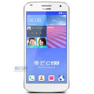 华为 麦芒C199 电信4G手机(月光银)FDD-LTE/CDMA2000/GSM 双卡双待双通