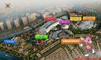 天津欢乐谷园区地图