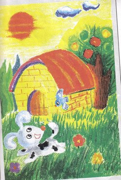 儿童油画棒画教程