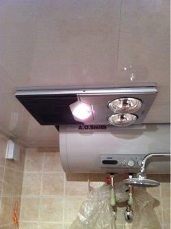灯暖型浴霸的工作原理是通过红外灯泡的热辐射来