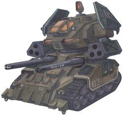 RMV-3M局地制压型钢坦克