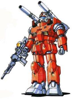 RX-77-01钢加农一号机