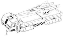 核心战机装载车