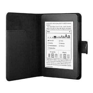 W/Kindle二代保护套智机头仿书本皮套式伸缩蓬牛皮图片