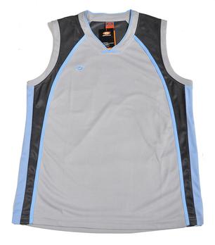 中健男款篮球服套装1509灰蓝# - 球服\/运动服饰