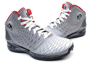 罗斯3.5代黑玫瑰logo渐变镂空工艺防滑稳固篮球战靴