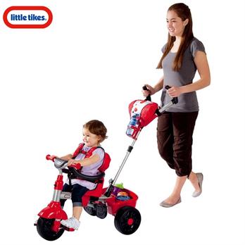 小泰克带斗儿童三轮车童车手推小孩