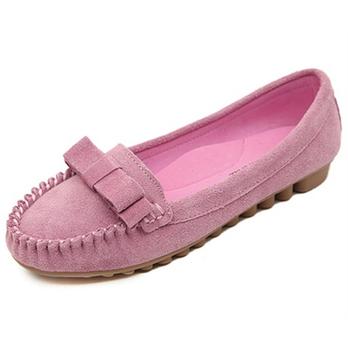 2014夏单少女浅口平跟平底鞋女鞋女生单鞋豆真皮院广图片
