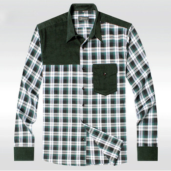 莱曼罗尼胖人专属2014春装新款大码男装长袖