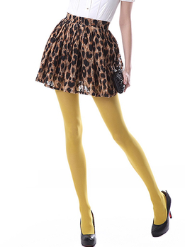 cmyk 黄色咖色裙子