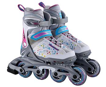 女款儿童轮滑鞋