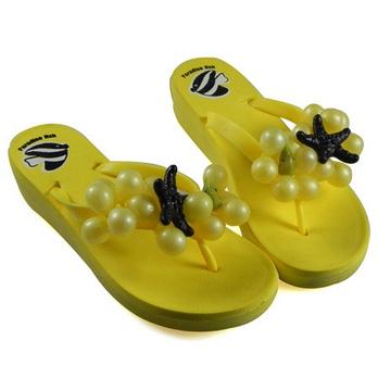 新款女糖果人字凉拖鞋