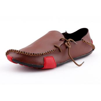 秋季男式休闲鞋子驾车鞋商务休闲皮鞋男