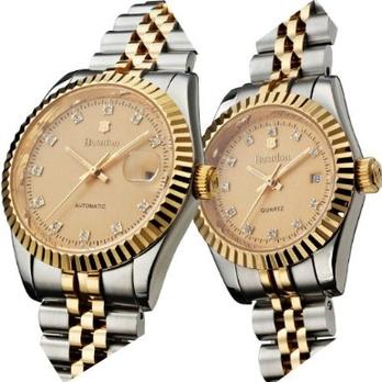新款邦顿瑞士手表 时尚钢带防水水钻石英女表