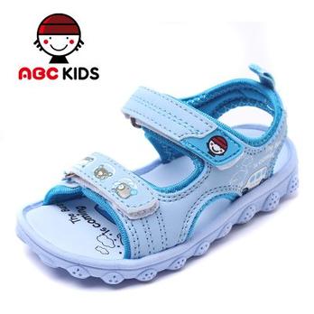 abc儿童凉鞋童鞋2014夏季新款男童女童宝宝软底沙滩 348