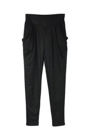 双层哈伦裤