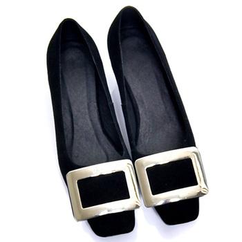 跟单鞋粗跟真皮鞋