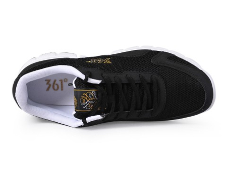 361度黑色运动鞋最新资讯