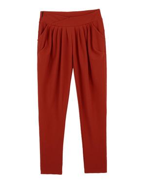 休闲长裤纯色哈伦裤