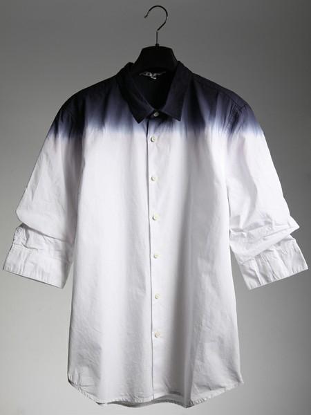 渐变中袖衬衫 (男款)