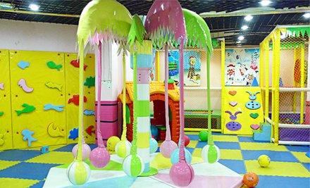 儿童淘气堡乐园12次卡1张