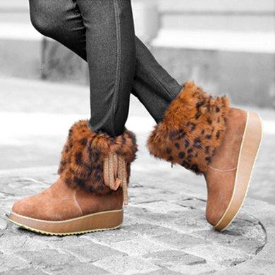 兔毛雪地靴(圣琪