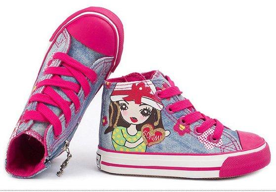 高帮儿童帆布鞋【3折】