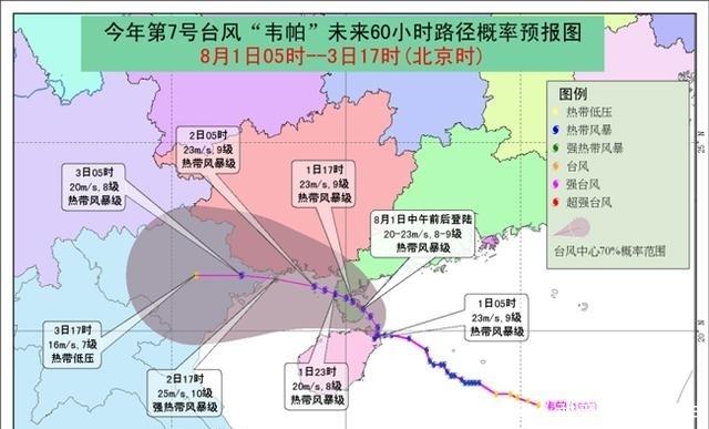 """台风""""韦帕""""继续影响粤桂琼 中东部高温明日减退"""