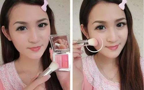 裸妆化妆技巧,简单步骤搞定小清新妆容!