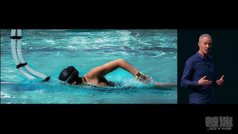 Apple watch 2防水功能强大 确定戴着游泳也没问题?
