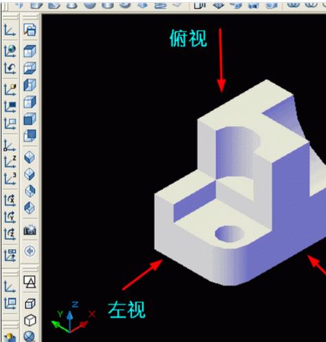 CAD三维转成二维_360问答cad2014块黑画怎么实心