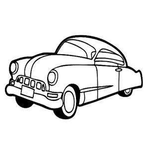 ps汽车线稿素材