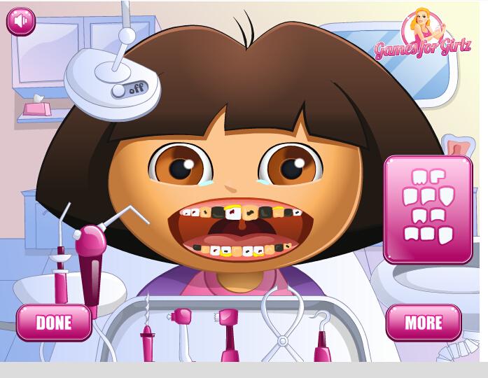 各种动物牙齿图片