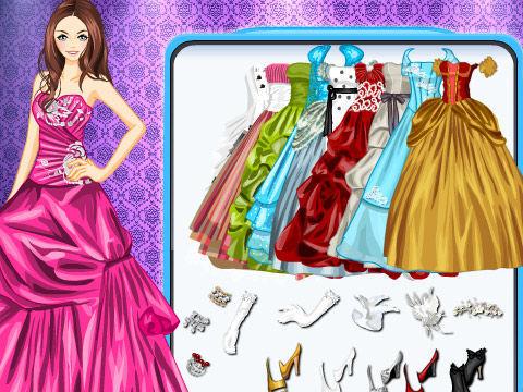 >公主的晚礼服