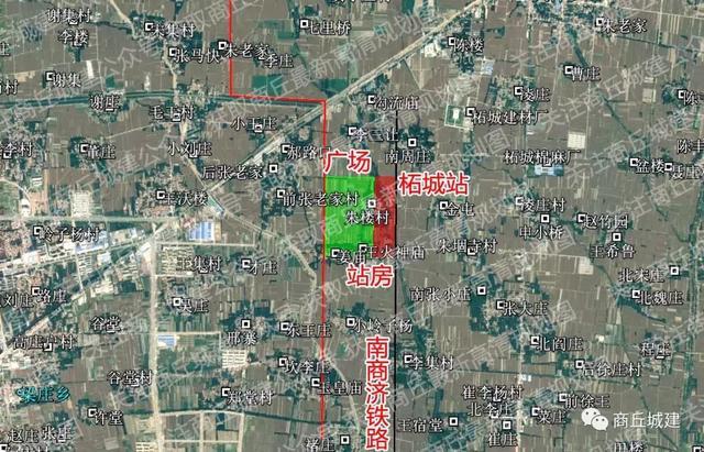 柘城规划图2017 2030 未来将建2座火车站