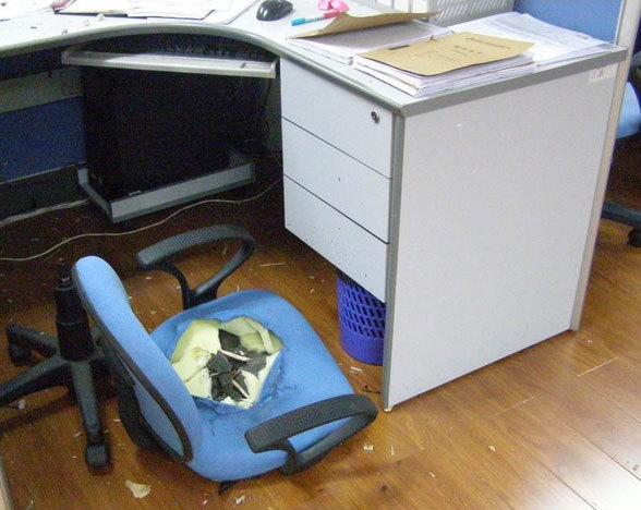 转椅怎么安装图解