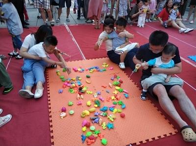 """新市镇第一幼儿园开展""""0-3岁""""社区亲子早教活动"""