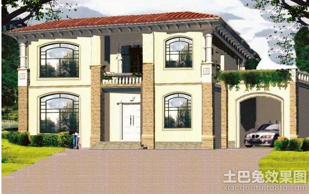 设计   建房子设计图_建房子设计图图片素材   新农村别墅设